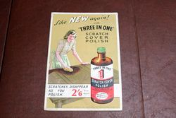 3 in 1 Advertising Card