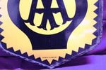 AA Double Sided Enamel Sign With Mounting Bracket