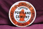 Portland Cement Enamel Sign (Repaired)