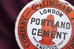 Portland Cement Enamel Sign Repaired