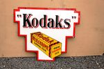 Kodak Film Double Sided Enamel Sign.#