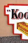 Kodak Film Double Sided Enamel Sign
