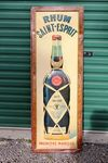 Rhum Saint Esprit Embossed Tin Sign.#
