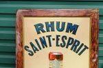 Rhum Saint Esprit Embossed Tin Sign