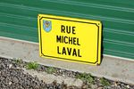French Enamel Street Sign #