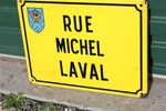 French Enamel Street Sign