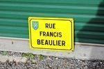French Enamel Street Sign #