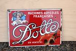 French Dolle Pictorial Enamel Sign. #