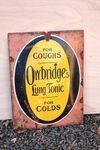 Owbridges Lung Tonic Enamel Sign. #