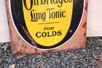 Owbridges Lung Tonic Enamel Sign