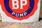 BP Sealed Pump Enamel Sign