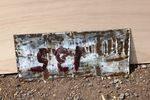 Wood Milne Shoeshines Enamel Sign
