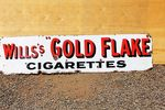 Wills Gold Flake Enamel Sign