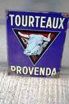 Tourteaux Pictorial Farming Enamel Sign..#
