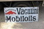 Gargoyle Vacuum Motor Oils Enamel Sign.#