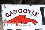 Gargoyle Vacuum Motor Oils Enamel Sign