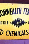 Commonwealth Fertilisers Enamel Advertising Sign