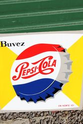 Pepsi Tin Advertising Sign
