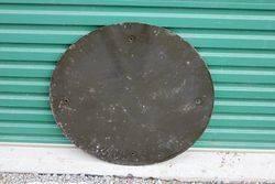 Round Enamel Street Sign