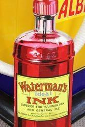 Watermans Ink Shop Display Card