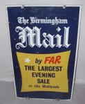 The Birmingham  Mail enamel sign