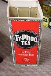 Ty-Phoo Tea Shop Advertising Display Bin.#