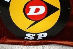 ARRIVING SOON Dunlop SP Tyreand96s Enamel Sign