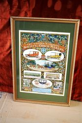Early Coach Makers Framed Poster.#