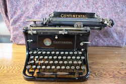 Antique Continental Typewriter. #