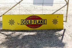 Wills Gold Flake Enamel Strip Sign.#
