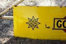 Wills Gold Flake Enamel Strip Sign