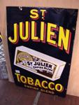 Classic St Julien Pictorial  Enamel Sign.