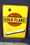 Classic Will`s Gold Flake Enamel Sign.