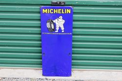 Michelin Tyre Chart Enamel Sign.#