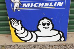 Modern Michelin Double Sided Tin Advertising Sign