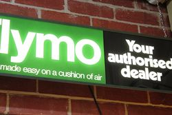 Flymo Dealership Advertising Light Box
