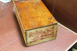 Robin Starch Original Display Wooden Box