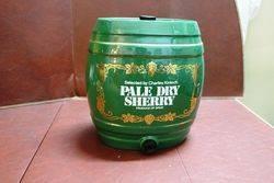 Ceramic Pale Dry Sherry Dispenser