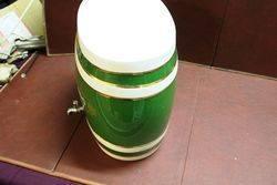 Large Ceramic Amontillado Sherry Dispenser
