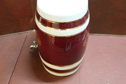 Large Ceramic Oloroso Sherry Dispenser