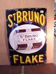 St Brunos Flake Pictorial Enamel Sign