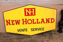 New Holland Service Double Sided Tin sign