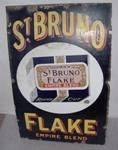 St. Bruno Flake Empire Brand Enamel Sign---