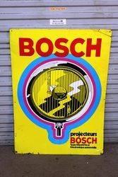 Bosch Projector Headlight Tin Advertising Sign