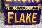 Vintage St Bruno Flake Enamel Sign..