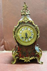 19th Century Small Boulle Mantle Clock.#