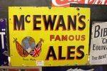 McEwans Famous Ales Enamel Sign