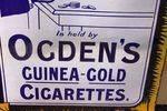 Ogdens Guinea Gold Tobacco Enamel Sign