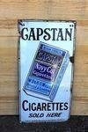Capstan Navy Cut Tobacco Pictorial Enamel Sign.#