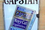 Capstan Navy Cut Tobacco Pictorial Enamel Sign